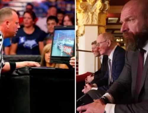 WWE နပန္းၿပိဳင္ပြဲေတြအတြင္းမွာ VAR ကုိ လုံးဝသုံးစြဲမွာမဟုတ္ဘူးလုိ႔ Triple H ဖြင့္ဟ