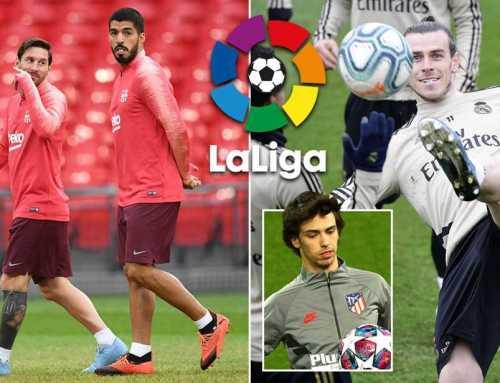 ဇွန်လ ၂၀ရက်နေ့မှာ စပိန် လာလီဂါပြိုင်ပွဲကို ပြန်လည် စတင်တော့မည်…