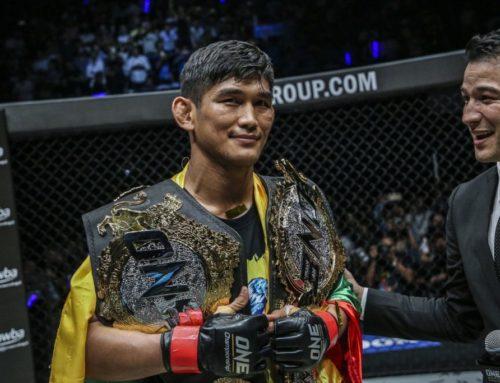 ကိုရိုနာဗိုင်းရပ် ကူးစက်ခံထားရတဲ့ မြန်မာ့ ဂုဏ်ဆောင် MMA ချန်ပီယံ အောင်လအန်ဆန်