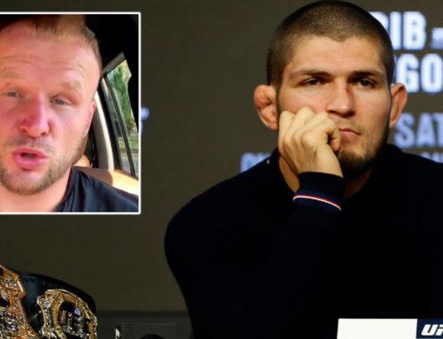 ခါဘစ်ရဲ့ UFC ကစားသမားဘဝက မပြီးဆုံးသေးဘူးလို့ ဆိုခဲ့တဲ့ ရုရှားဖိုက်တာ ရှလန်မန်ကို