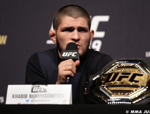 မိခင်ဖြစ်သူ ခွင့်ပြုရင် UFC ကို ပြန်လာမယ်လို့ ပြောကြားလိုက်တဲ့ ခါဘစ်